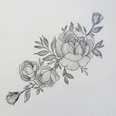 #ekb #ekaterinburg #yekaterinburg #tatts #tattooekb #flowertattoo #peonytattoo #екб #екатеринбург #татуекб #татуекатеринбург #пионы #моиработы свободный эскиз