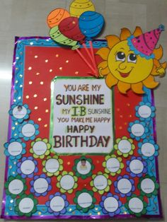 Birthday Chart Classroom, Birthday Bulletin Boards, Sunday School Classroom, Classroom Charts, Birthday Charts, Birthday Board, School Fun, School Board Decoration, Class Decoration