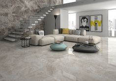 Marble effect  Are you looking for a touch of extra luxury in your #home? ✨ Gala ✨ #porcelain#tiles#decoracao#decoracaodeinteriores#marble#livingroom#marmol#salon#arquitetura#homedecorideas#interiors4all#interiorstyling