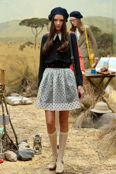 A Wes Anderson-Inspired Collection We're Crushing Over Hard #refinery29 ----- ahhh