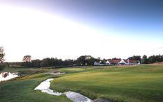 Golf course in Denmark, golfbaan in Denemarken