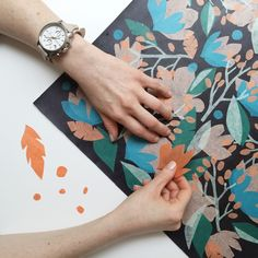 Check out the behind the design of our Summer floral print on the #Fossil blog.