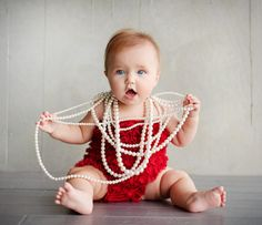 Babies LOVE to play with jewelry!