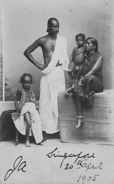 Tamils in Singapore, 19th century.