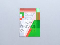 Naonori Yago: Laforet Private Party — Thisispaper — What we save, saves us.