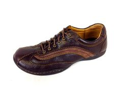 Born Shoes Leather Suede Brown Lace Up Comfort Oxfords Womens 6 5 M  | eBay