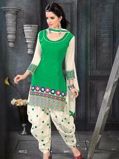 Patiala Suits 2015 | Indian Patiala Salwar Kameez For Girls By Natasha Couture