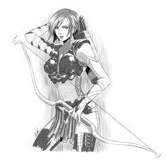 Dragon Age Leliana by virak