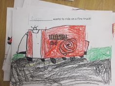 Fire Truck directed drawing