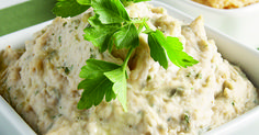 """My """"White Bean Hummus with Fresh Thyme and Basil"""" now available on @Forks Over Knives site - jump over and make it. Really easy, and you can double/triple the batch and freeze portions!"""