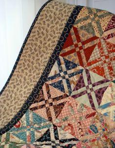 Quilt patchwork blocks tip arrow - Pattern Free
