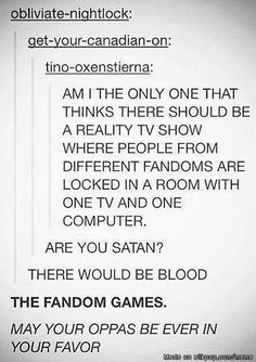 THE FANDOM GAMES