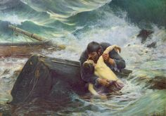 Alfred Guillou was a 19th century artist who studied with the masters Alexander Cabanel and William A. Bouguereau.  He did mainly genre scenes that were very popular in the 19th century.