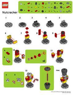 LegoMyMamma: LEGO Nutcracker building instructions