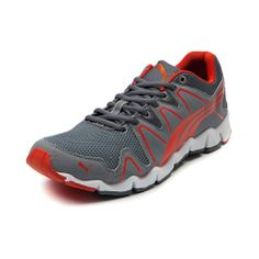 Shop for Mens Puma Shintai Runner Athletic Shoe in Grey Orange at Journeys Shoes.