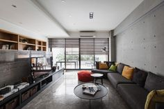 PMD Designs a Stylish Apartment for Chu in Kaohsiung City