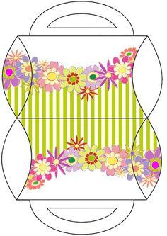Printable Floral Box