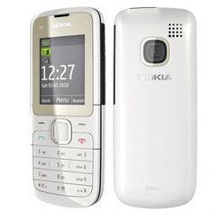 Nokia C2-00 Dualsim Snow White