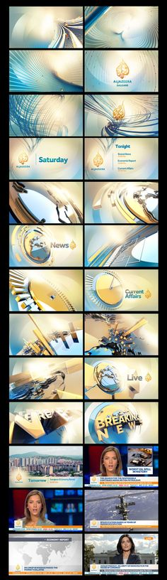 AL JAZEERA BALKANS by marcos vaz, via Behance
