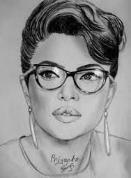 Image result for priyanka chopra pencil sketches