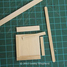 How To Make Working Base Cabinets for a Dollhouse Kitchen: Assemble and Trim the Drawer and Door Fronts