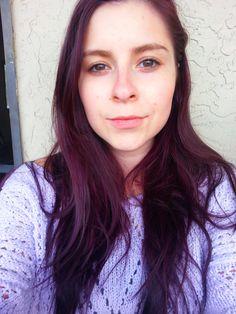 Manic Panic's Purple Haze on unbleached hair - love the result