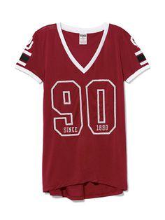University of Oklahoma Sporty Bling Top - PINK - Victoria's Secret