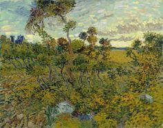 Vincent van Gogh: 'Sunset at Montmajour'.
