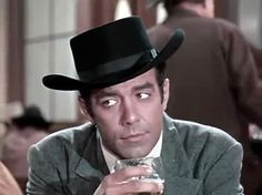 Pernell Roberts In Bonanza. (The Magnificent Adah)