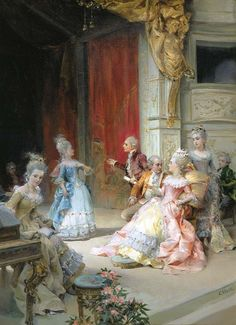 """my-place-of-recovery: """" monsieurleprince: """" Cesare Auguste Detti (1847 - 1914) - The arrival """" """""""