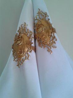 Porta guardanapos feito artesanalmente por Rosa Sensoli Design por Jessica Melo.