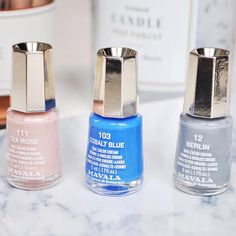 See which Mavala shades A Girl Talk With Laura's has added to her nail collection
