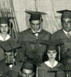 Elvis at his Graduation.