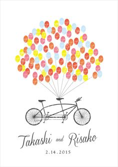 【セミオーダー】wedding tree tandem bike