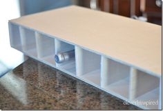 Installing wood countertop and building a base cabinet DIY - Cleverly Inspired