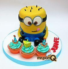 Mr.ponQ torta minions