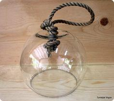 Cloches verre on pinterest for Cloche verre decorative