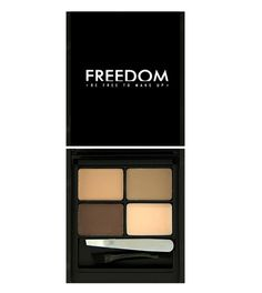 Pro Eyebrow Kit from Freedom Makeup in Light Medium. $6.30.