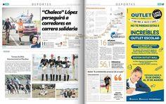 """Francisco """"Chaleco"""" López será el conductor de la camioneta que perseguirá a los inscritos en la segunda edición de la carrera Wings For Life World Run del próximo 3 de mayo. http://ift.tt/1ti9Qcb"""