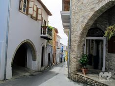 Picturesque alleys around the village