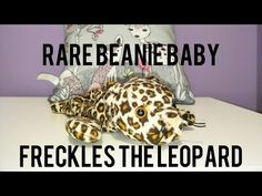 Rare beanie babies freckles the leopard. YouTube 01fdb63bfbd2