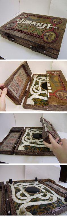 Amazing Handmade Jumanji Game Box