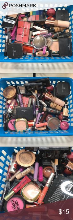 ✨ HUGE basket of lightly used makeup ✨ 🌟 PLEASE REFER TO THE PICTURES, LET ME KNOW IF YOU HAVE ANY QUESTIONS & OFFERS WANTED! ❤️ ELF Makeup Lipstick