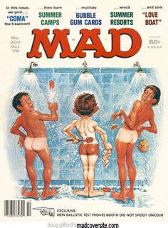 Mad - October 1978 Cover by Jack Rickard Robinson Crusoe, Mad Magazine, Life Magazine, Magazine Covers, Dramas, Nostalgia, Cinema Tv, Culture Pop, Mad World