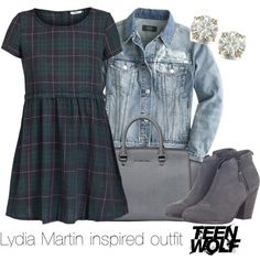 """""""Lydia Martin inspired outfit/Teen Wolf"""" by tvdsarahmichele on Polyvore"""