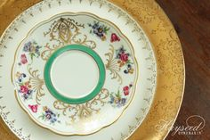Hayseed Homemakin': Mismatched China : Plates & Saucers