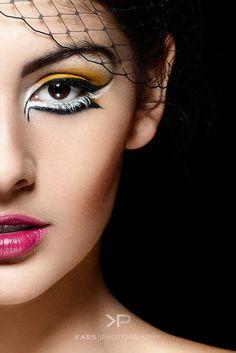 Creative Makeup by Kerry Reddiar Professional Make-up #makeup #creative #bold www.facebook.com/...