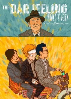 The Darjeeling Limited poster.