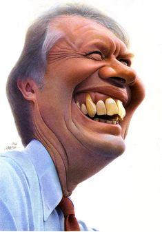 JIMMY CARTER ~ By Jean Mulatier _____________________________ Reposted by Dr. Veronica Lee, DNP (Depew/Buffalo, NY, US)