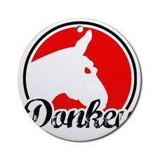 donkey2rw Round Ornament for
